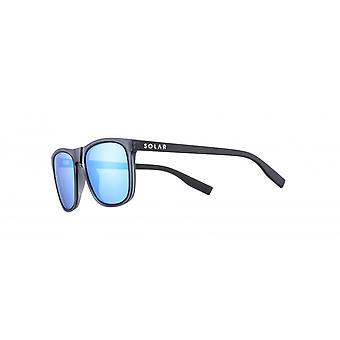 Sunglasses Unisex Cat.3 dark blue matte / blue (JSL1199)