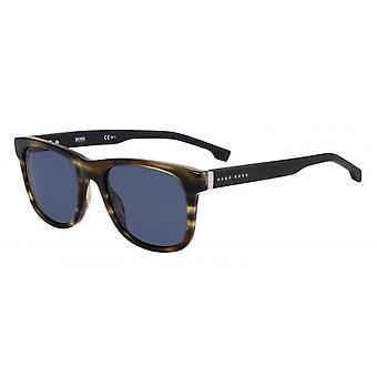 Okulary przeciwsłoneczne Mężczyźni 1039/SEX4/KU Męskie brązowe/niebieskie
