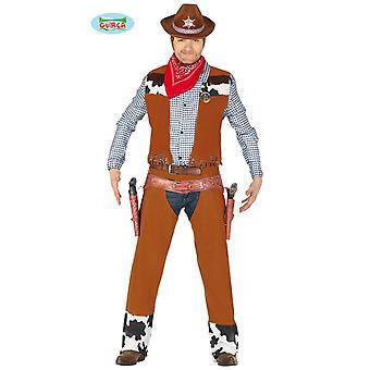 Costume de cowboy Western Cowboy costume masculin
