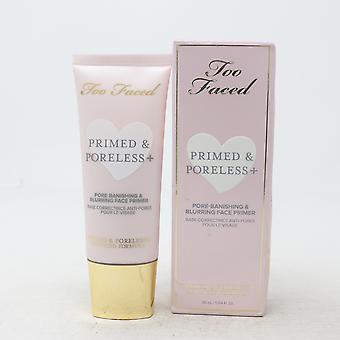 Too Faced Primed & Poreless + Face Primer 1.014oz/30ml Nouveau avec boîte