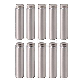 10 pièces en acier inoxydable Vis publicitaires Clou 50MM Hauteur