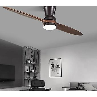 Modern Led Village, Industrial Wooden Ceiling Fan With Lights