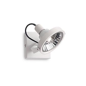 Ideale Lux Glim - 1 licht plafondlichtwit