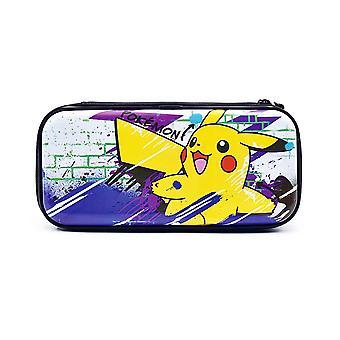 HORI officieel gelicentieerd - Premium Vault Case (Pikachu) voor Nintendo Switch