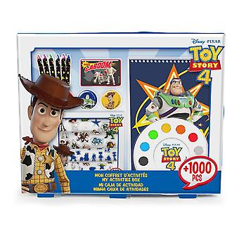Disney Toy Story 4 Activities Box with 1000pcs Creative Accessories (CTOY149)