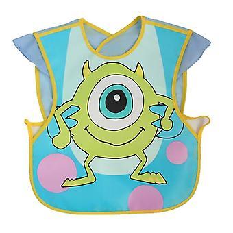 Disney Cute Baby Bibs Eva Imperméable à l'eau Sans manches Déjeuner Alimentation Tissu de dessin animé