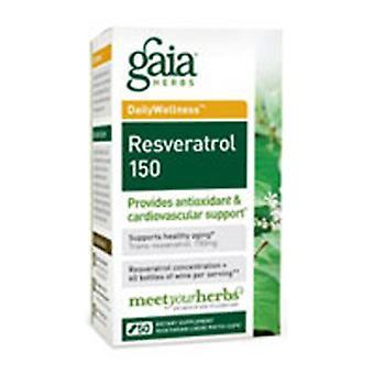 Gaia Herbs Resveratrol 150, 50 Caps