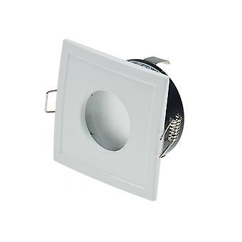 """الأبيض يسلط الضوء على راحة """"الصحائف-84""""، مربعة، ماتي الزجاج الأمامي لغرف الرطب IP44،"""