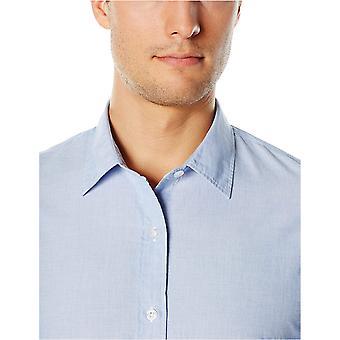 Goodthreads Miehet&s Standard-Fit pitkähihainen end pääpaita, sininen, x-suuri