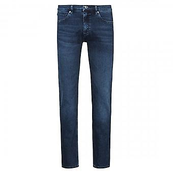HUGO Boss 734 Mid Blue Extra Slim Fit Denim Jeans 420 50430981