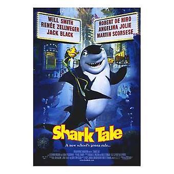 Shark Tale Movie Poster (11 x 17)