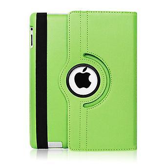 Material Certificado® Capa dobrável de couro para iPad Air 3 - Caso Multifuncional Case Green