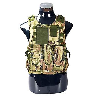 Airsoft Military Tactical Vest, Molle Combat, Assault Plate Carrier, Cs Outdoor