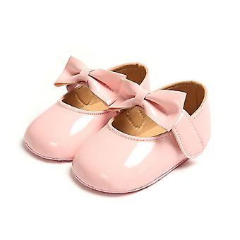 طفل حديث الولادة المضادة للانزلاق Bling سرير برام، الجلود أحذية الأميرة الناعمة، Sole