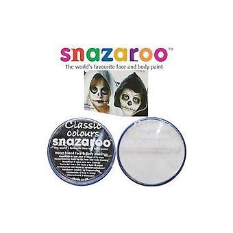 Halloween snazaroo black & white water based face & body paint fancy dress set 1