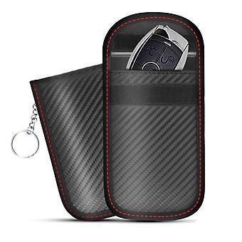Car Key Signal Blocker Case Faraday Cage Fob Pouch Keyless Rfid Blocking Bag