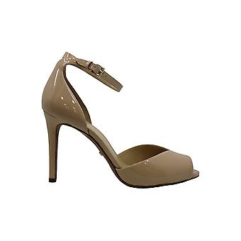 Michael Michael Kors Womens Cambria Fabric Peep Toe Classic Pumps