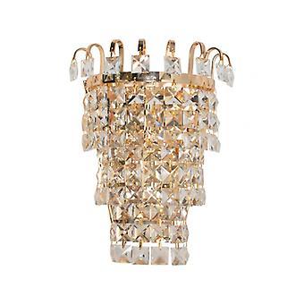 Væg lys Dorée Crystal 1 Pære 12 cm