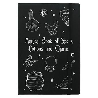 Grindstore Magical Book Of Spells A5 Notebook