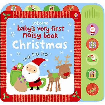 Le tout premier livre bruyant de Noël de bébé