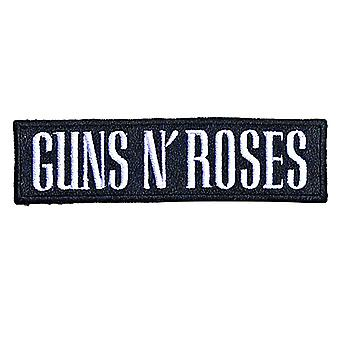 Guns N Roses Patch Text Band Logo new Official