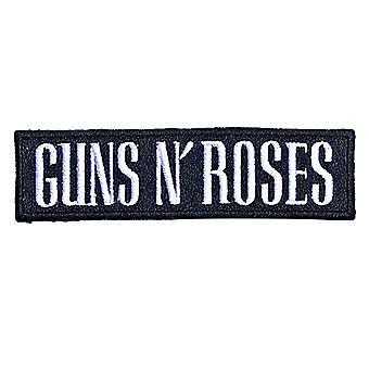 Guns N Roses Patch Text Band Logo nieuwe officiële