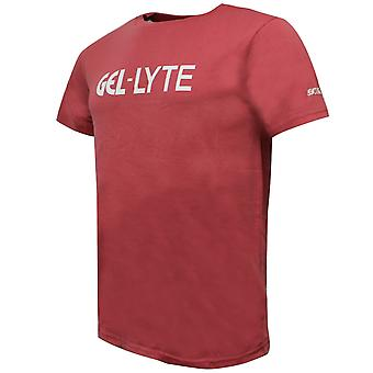 Asics Gel-Lyte Mens T-Shirt Branded Logo Top Coral 2191A093 700