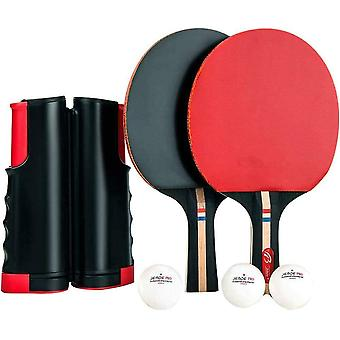 Portable action table tennis - play anywhere