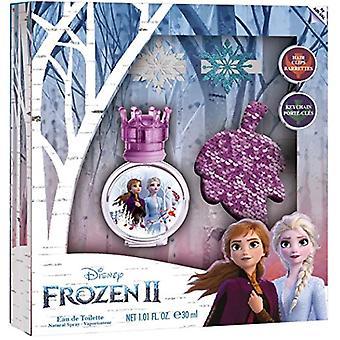 Disney Frozen II Gift Set 30ml EDT + Keychain + Hair Clip