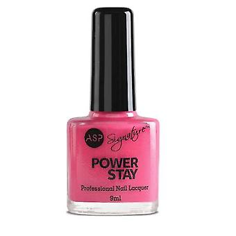 ASP Power Stay Professional Nail Lacquer - Tropical Pink