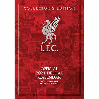 Liverpool FC Deluxe 2021 A3 Calendar