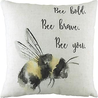 Evans Lichfield Bee You Bumblebee Cushion Cover
