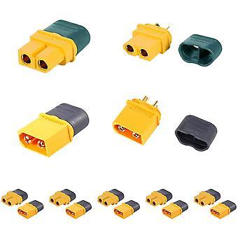 5 Paar hochwertige xt60h-Steckverbinder, männlich-weiblich mit Schutzhülle, rc Lipo-Modellierung Batterie-Steckverbinder