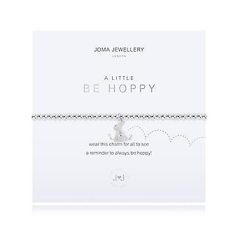 Joma Sieraden A Little Be Hoppy Silver 17.5cm Stretch Bracelet 4307
