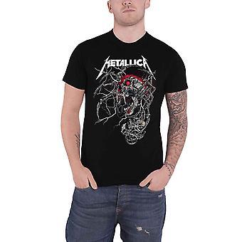 Metallica T Shirt Spider Dead Band Logo novo Official Mens Black