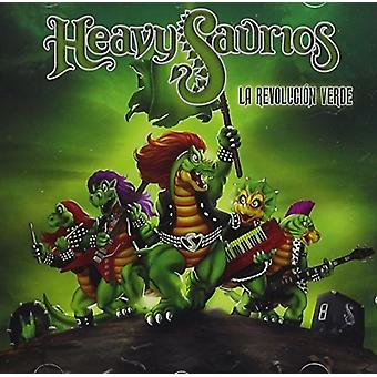 Heavysaurios - La Revolucion Verde [CD] Usa:n tuonti