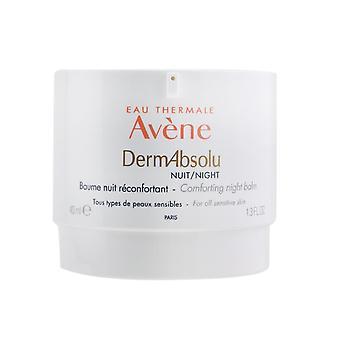 Baume de nuit de confort de nuit absolu de Derm pour toute la peau sensible 259806 40ml/1.3oz