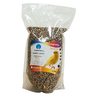 Cominter sekoitetaan 1,5 kg Canarios (lintuja, lintujen ruokaa)