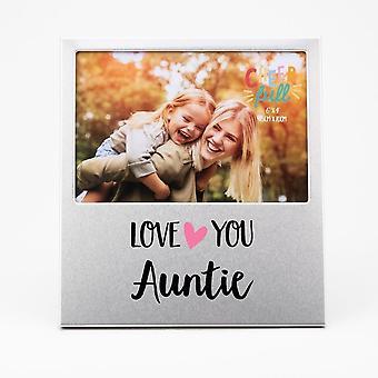 Widdop & Co. Aluminium Frame 6 X 4 - Love You Auntie