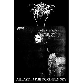Darkthrone Poster A Blaze in the Northern Sky Official Textile Flag 70cm x 106cm