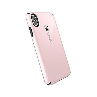 Speck Produkter CandyShell iPhone XS Max Case, Kvarts Rosa / Skiffer Grå