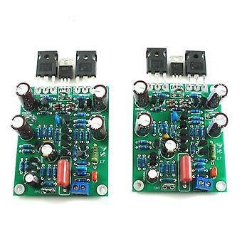 Amplifier Board Class, Ab Mosfet, Audio Hifi Power, Dual-channel