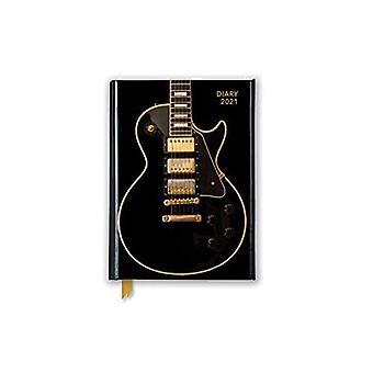Black Gibson Guitar Pocket Diary 2021