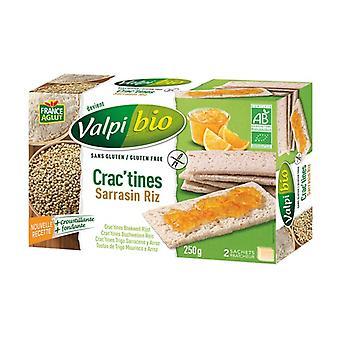 Buckwheat Crac'tine - Organic Rice 6 units