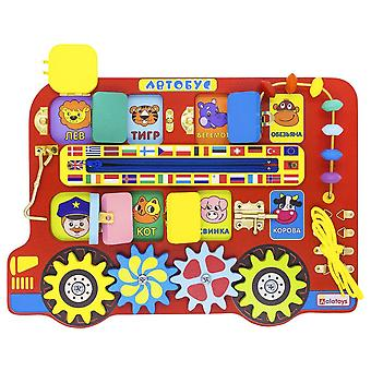 "Alatoys Wooden  Busyboard ""Bus"""