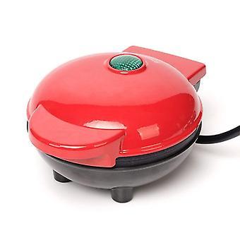 Mini elektrisk vaffel maker boble æg kage ovn morgenmad vaffel maskine