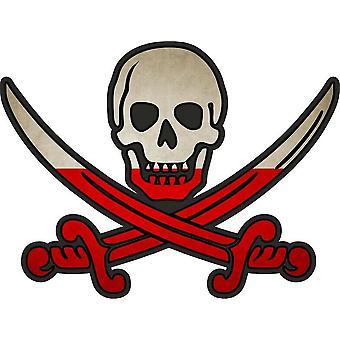 Tarra tarra merirosvo jack rackham calico maa lippu PL Puola