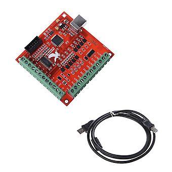 Controlador de movimento do driver de interface do eixo CNC USB Mach3 100khz