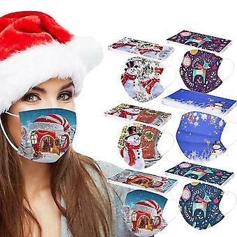 Mascarilla de boca con filtro, tela lavable a prueba de polvo / protección al aire libre