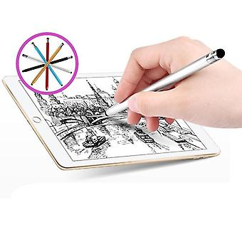 Metal Stylus Pen For Phone Dual-touch Plug Android Tablet Mobile Phone Stylus